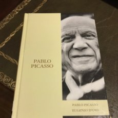 Libros de segunda mano: PABLO PICASSO EUGENIO D'ORS. Lote 171449470