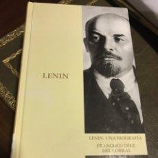 Libros de segunda mano: LENIN. UNA BIOGRAFÍA. FRANCISCO DIEZ DEL CORRAL. Lote 171450065