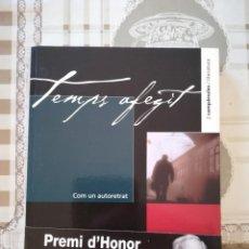 Libros de segunda mano: TEMPS AFEGIT. COM UN AUTORETRAT - JOSEP Mª ESPINÀS - EN CATALÀ. Lote 171521313