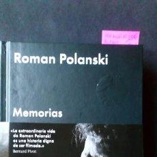 Libros de segunda mano: MEMORIAS ROMAN POLANSKI. Lote 171697069