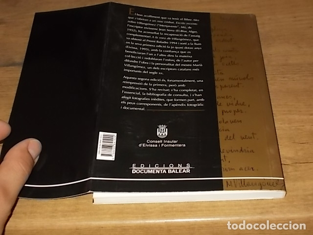 Libros de segunda mano: A LA VORA DE VILLANGÓMEZ . JEAN SERRA. EDICIONS DOCUMENTA BALEAR. 2007 . EIVISSA . - Foto 13 - 171735244