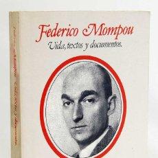 Libros de segunda mano: FEDERICO MOMPOU. VIDA, TEXTOS Y DOCUMENTOS - CLARA JANÉS. FUNDACIÓN BANCO EXTERIOR. Lote 172194223