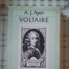 Libros de segunda mano: VOLTAIRE - A. J. AYER. Lote 173124029