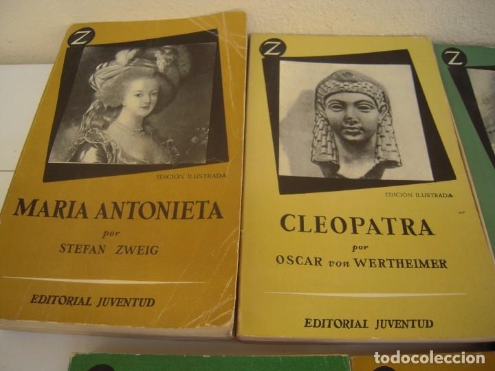 Libros de segunda mano: lote de 6 coleccion z grandes personajes - Foto 2 - 173151945
