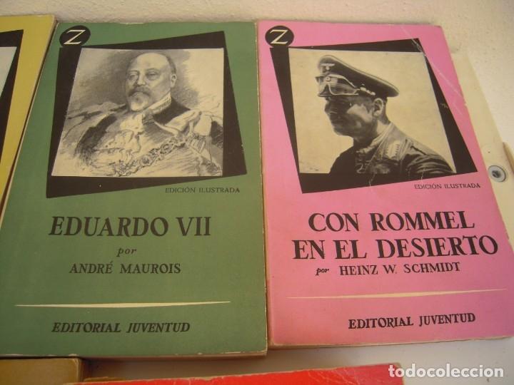 Libros de segunda mano: lote de 6 coleccion z grandes personajes - Foto 3 - 173151945