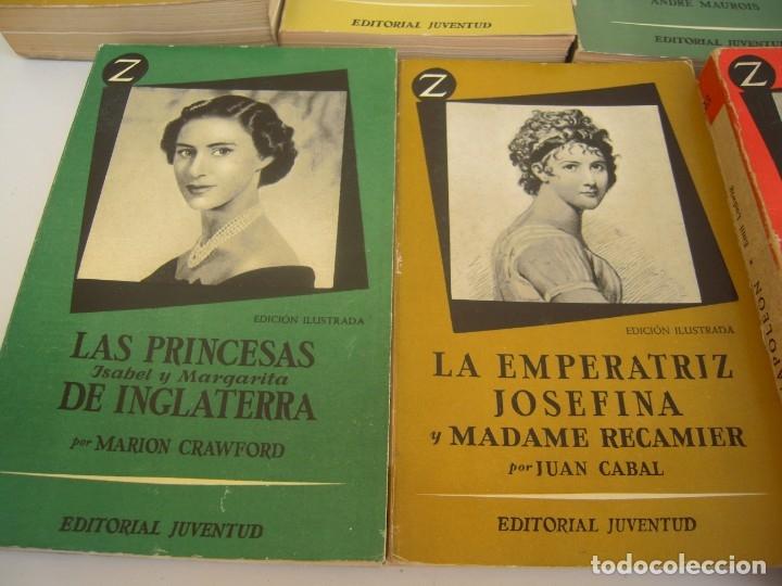 Libros de segunda mano: lote de 6 coleccion z grandes personajes - Foto 4 - 173151945