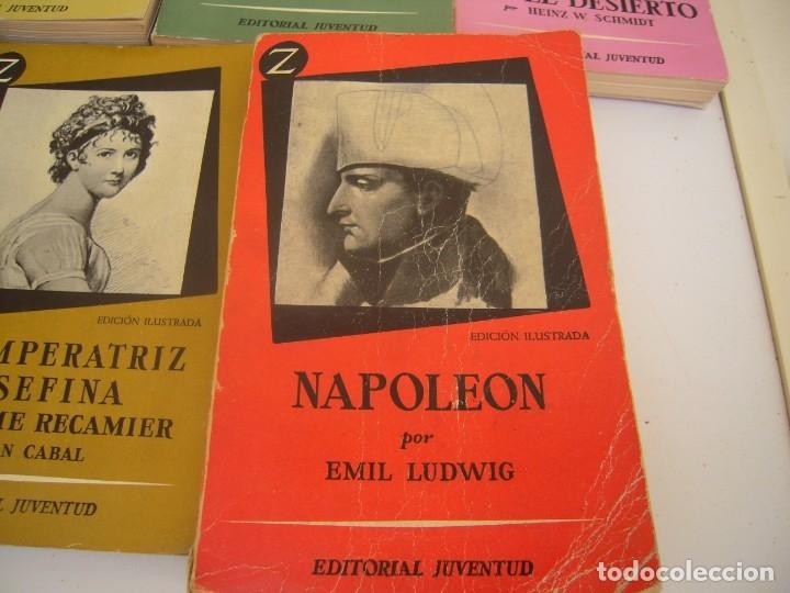 Libros de segunda mano: lote de 6 coleccion z grandes personajes - Foto 5 - 173151945