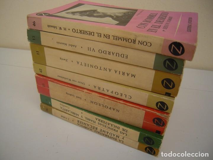 Libros de segunda mano: lote de 6 coleccion z grandes personajes - Foto 6 - 173151945