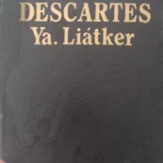Livros em segunda mão: ED PROGRESO. MOSCÚ. VIDA DE DESCARTES. Lote 276381033