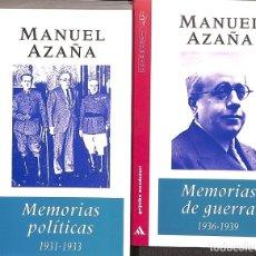 Libros de segunda mano: MEMORIAS POLÍTICAS Y DE GUERRA. Lote 173184942