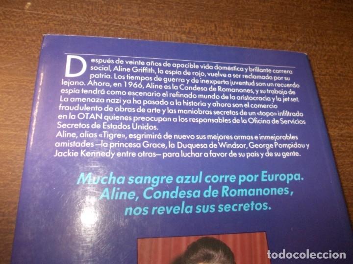 Libros de segunda mano: Aline Condesa de Romanones, Sangre Azul. Ed. B 1ª ed. mayo 1.990 - Foto 2 - 173813090