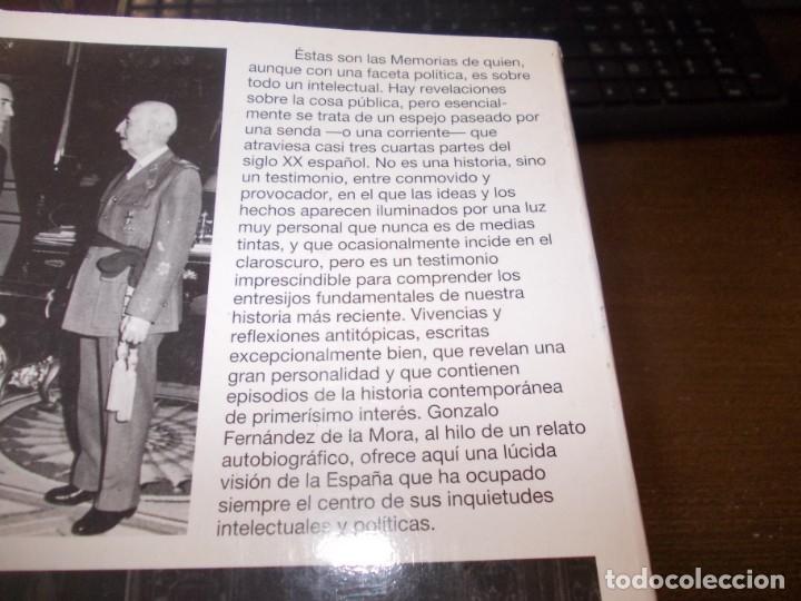 Libros de segunda mano: Río arriba, memorias. Gonzalo Fernández de la Mora. Planeta 1ª ed. marzo 1.995 - Foto 2 - 173813492
