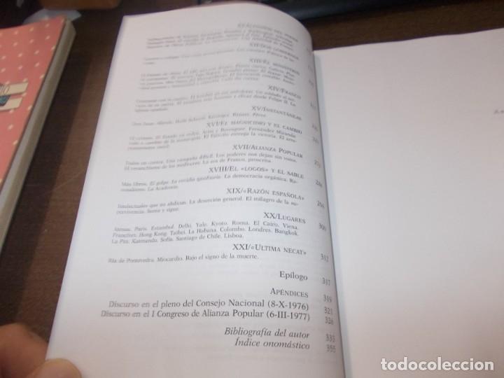 Libros de segunda mano: Río arriba, memorias. Gonzalo Fernández de la Mora. Planeta 1ª ed. marzo 1.995 - Foto 4 - 173813492