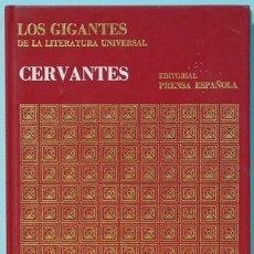 Libros de segunda mano: LMV - CERVANTES. COLECCION LOS GIGANTES Nº 1. EDITORIAL PRENSA ESPAÑOLA. 1971. Lote 174155839