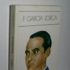 Libros de segunda mano: F. GARCÍA LORCA. BUENO TELLO ANTONIO. 1988. Lote 174398067