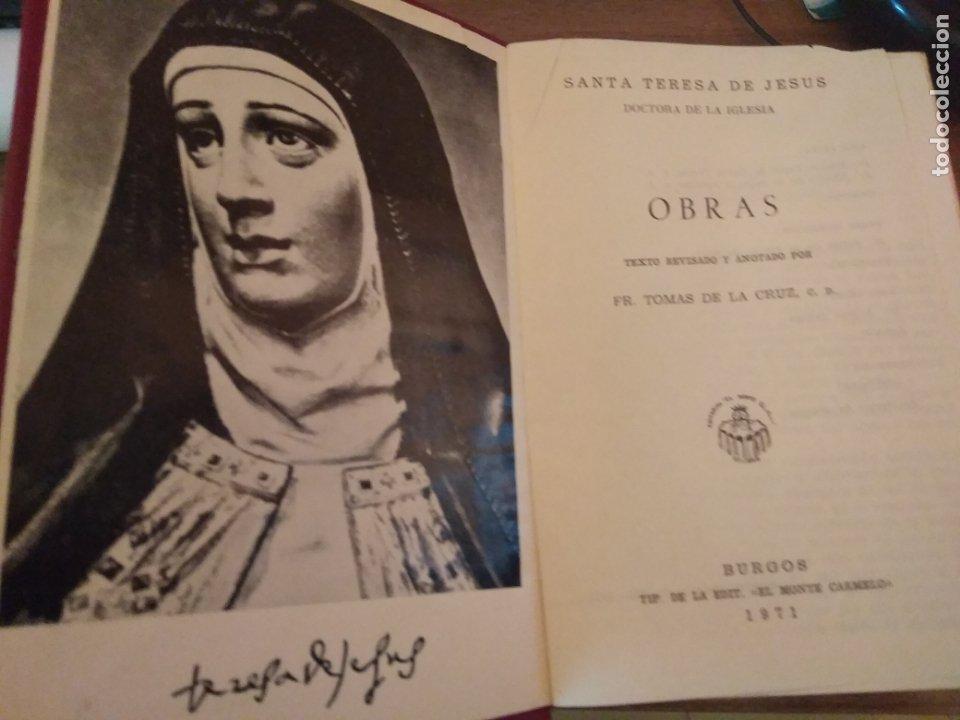 TERESA DE JESÚS - OBRAS COMPLETAS - BURGOS 1971SIR (Libros de Segunda Mano - Biografías)