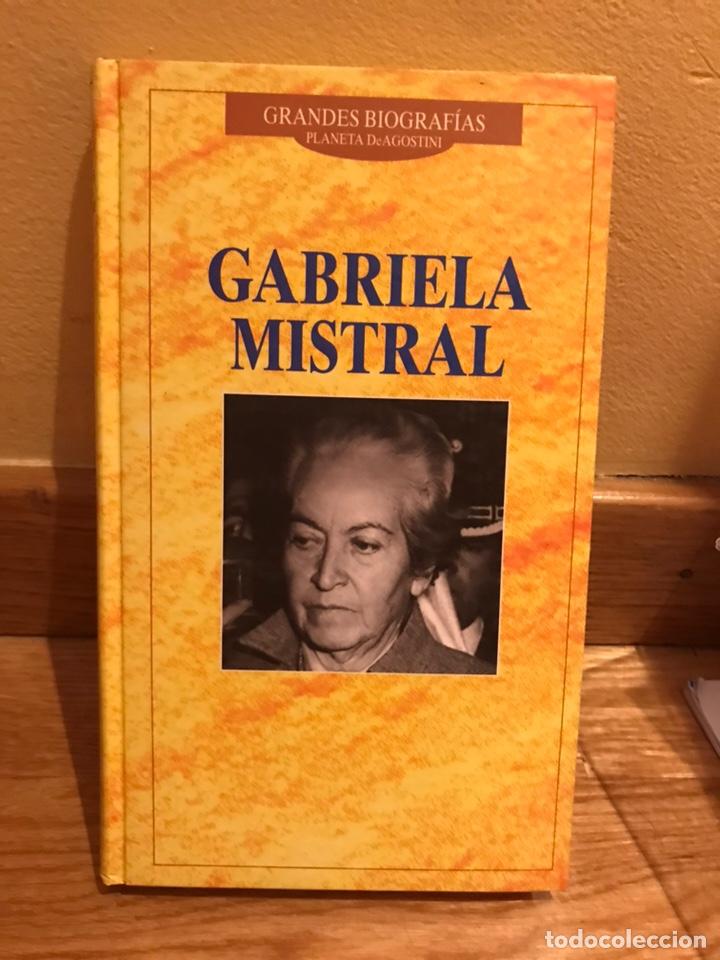 GABRIELA MISTRAL GRANDES BIOGRAFÍAS (Libros de Segunda Mano - Biografías)