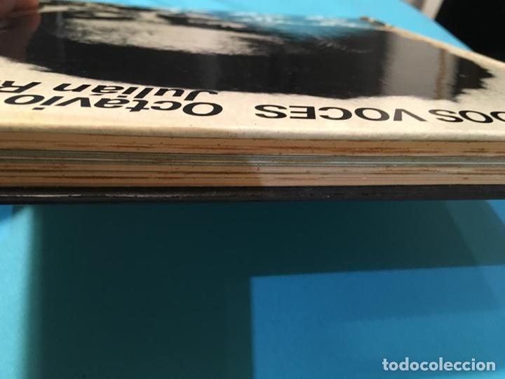 Libros de segunda mano: Solo a dos vives. Octavio Paz Julian Ríos. 1973 - Foto 4 - 176169372