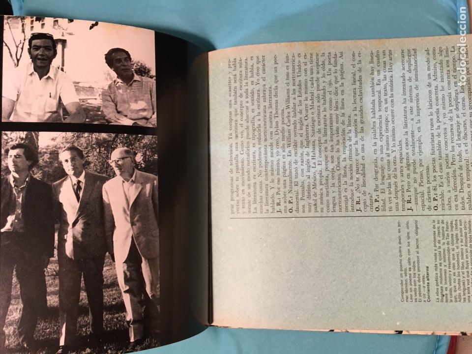 Libros de segunda mano: Solo a dos vives. Octavio Paz Julian Ríos. 1973 - Foto 8 - 176169372