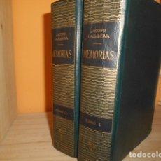 Libros de segunda mano: MEMORIAS / JACOBO CASANOVA / 2 TOMOS / COMPAÑIA GENERAL DE EDICIONES MEXICO. Lote 176261663