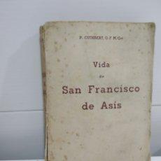Libros de segunda mano: VIDA DE SAN FRANCISCO DE ASIS. Lote 176566743