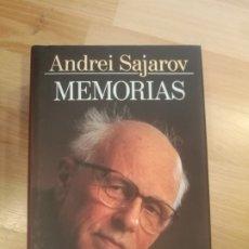Libros de segunda mano: 'ANDREI SAJAROV. MEMORIAS'. Lote 176643183