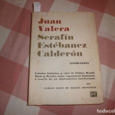 Libros de segunda mano: JUAN VALERA / SERAFÍN ESTÉBAÑEZ CALDERÓN (1850-1985) FACSIMIL, MADRID 1971. Lote 176858657
