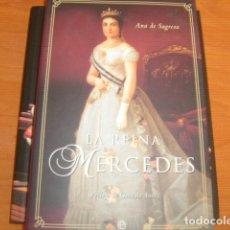 Libros de segunda mano: LA REINA MERCEDES , ANA DE SAGRERA. Lote 176926294