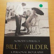 Libros de segunda mano: NOBODY'S PERFECT. BILLY WILDER. A PERSONAL BIOGRAPHY (CHARLOTTE CHANDLER). Lote 177198347