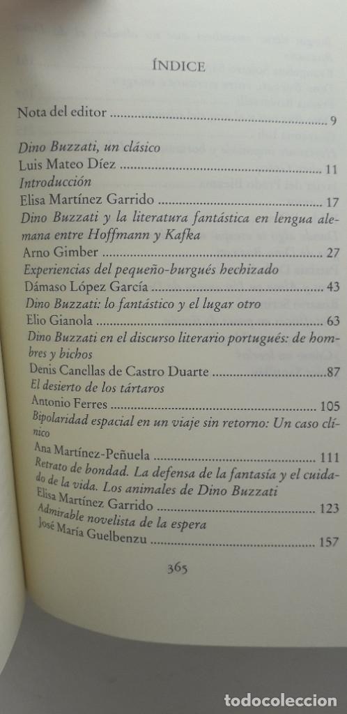 Libros de segunda mano: ÚLTIMA RACIÓN DE ESTRELLAS, DINO BUZZATI Y SU OBRA - VVAA - Foto 4 - 177263537