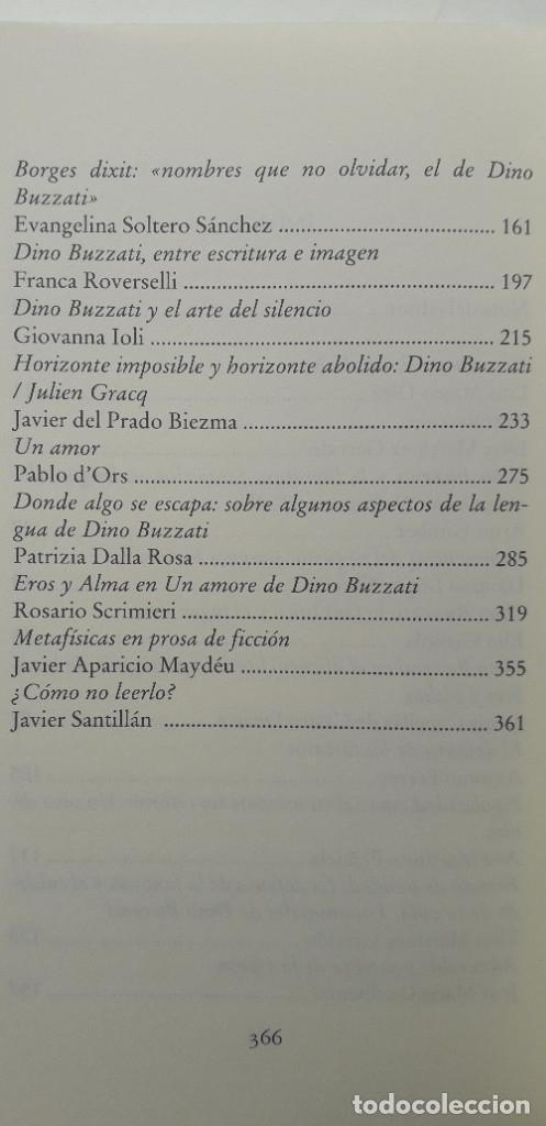 Libros de segunda mano: ÚLTIMA RACIÓN DE ESTRELLAS, DINO BUZZATI Y SU OBRA - VVAA - Foto 5 - 177263537