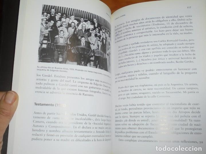 Libros de segunda mano: CARLOS GARDEL, LA VOZ DEL TANGO. RAFAEL FLORES. ALIANZA, 1ª EDC. 2003. SIN EL CD - Foto 2 - 177878823