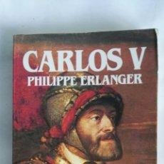 Libros de segunda mano: CARLOS V BIOGRAFÍA. Lote 177939368