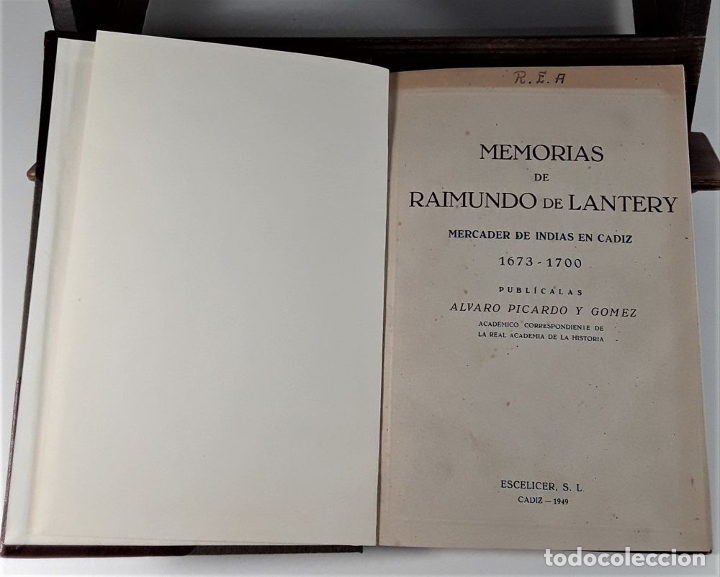 Libros de segunda mano: MEMORIAS DE RAIMUNDO DE LANTERY. EJEMP. Nº 30. A. PICARDO. IMP. ESCELICER. 1949. - Foto 4 - 178029397