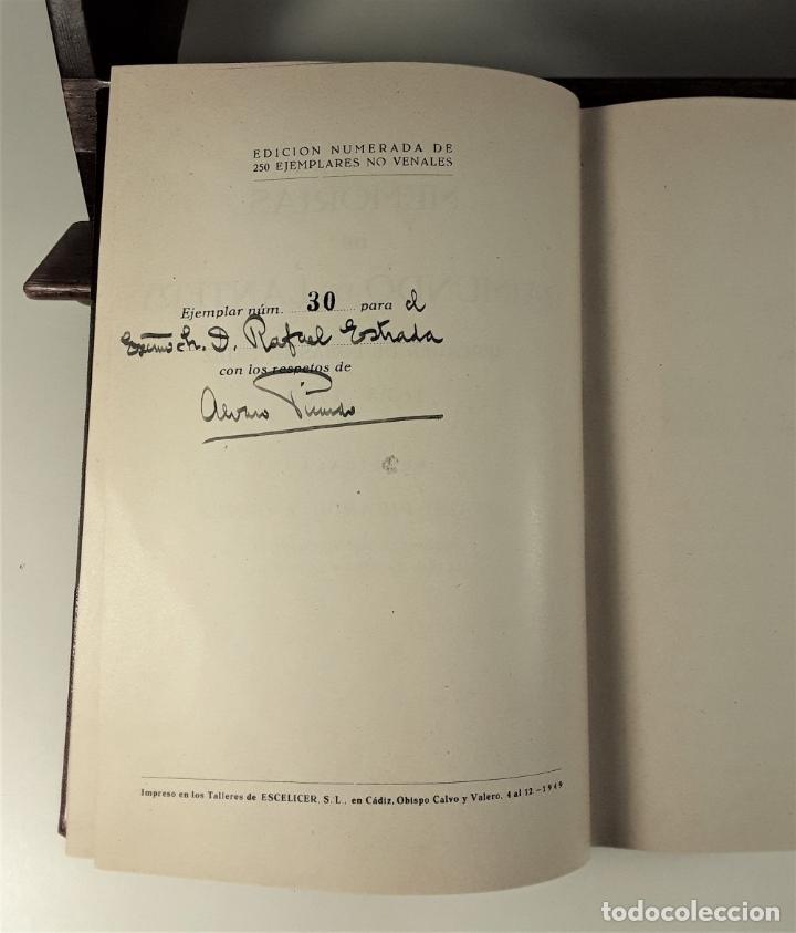 Libros de segunda mano: MEMORIAS DE RAIMUNDO DE LANTERY. EJEMP. Nº 30. A. PICARDO. IMP. ESCELICER. 1949. - Foto 7 - 178029397