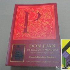 Libros de segunda mano: BARTOLOME MARTINEZ, G.: DON JUAN DE PALAFOX Y MENDOZA, OBISPO DE LA PUEBLA DE LOS ANGELES Y DE OSMA. Lote 195140158