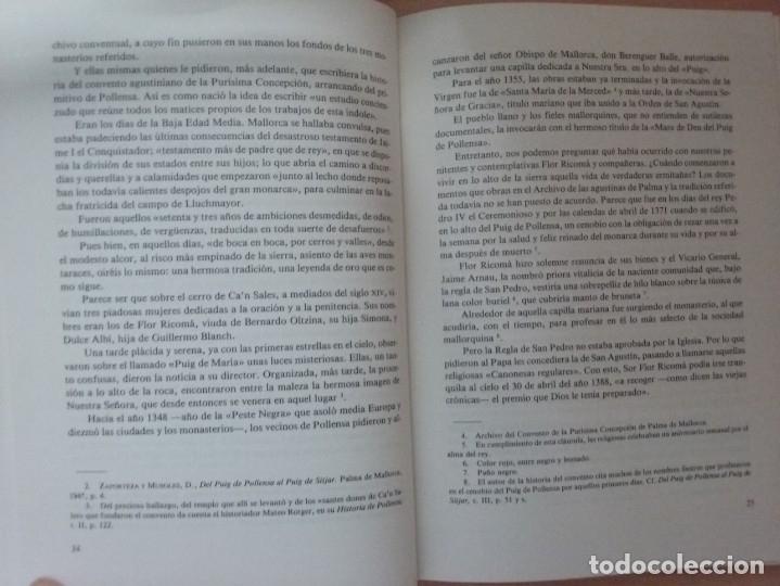 Libros de segunda mano: UNA MUJER MALLORQUINA EJEMPLAR. SOR CATALINA MAURA - TEÓFILO APARICIO - Foto 5 - 178296685