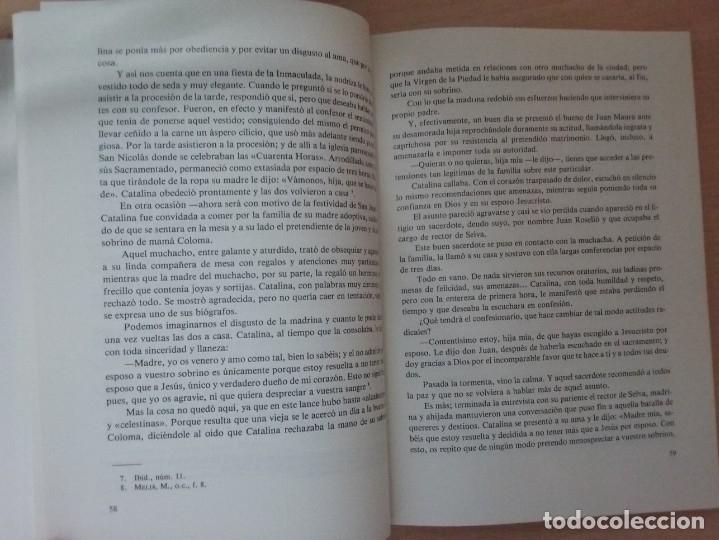 Libros de segunda mano: UNA MUJER MALLORQUINA EJEMPLAR. SOR CATALINA MAURA - TEÓFILO APARICIO - Foto 7 - 178296685
