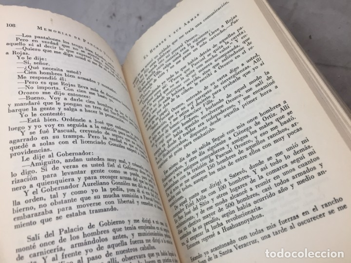 Libros de segunda mano: Memorias De Pancho Villa - Martín Luis Guzman 1954 - Foto 7 - 178980655