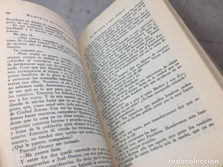Libros de segunda mano: Memorias De Pancho Villa - Martín Luis Guzman 1954 - Foto 8 - 178980655
