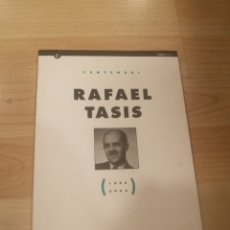 Libros de segunda mano: 'CENTENARI RAFAEL TASIS. 1906-2006'. Lote 179316415