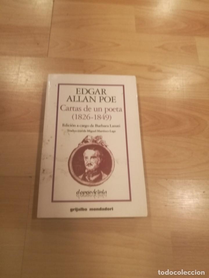 'CARTAS DE UN POETA (1826-1849)'. EDGAR ALLAN POE (Libros de Segunda Mano - Biografías)