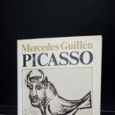 Libros de segunda mano: PICASSO. MERCEDES GUILLÉN.1975. Lote 179332920