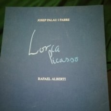 Libros de segunda mano: LORCA - PICASSO. Lote 180120592