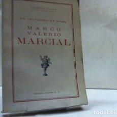 Libros de segunda mano: ROBERTO RIBER ... MARCO VALERIO MARCIAL ... 1941. Lote 180227195
