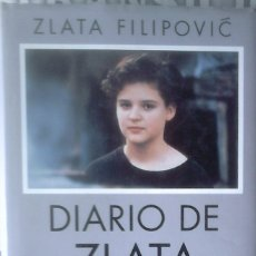 Libros de segunda mano: ZLATA FILIPOVIC - EL DIARIO DE ZLATA. Lote 180233740