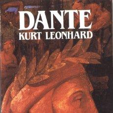 Libros de segunda mano: DANTE. BIOGRAFÍA. KURT LEONHARD. 1988. Lote 180239420