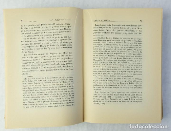 Libros de segunda mano: Bravo Murillo y su significacion en la politica española-Alfonso Bullon de Mendoza-1950 - Foto 6 - 180409712