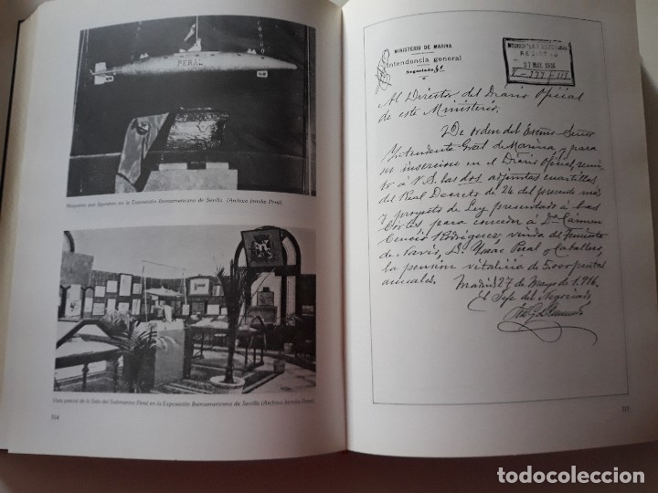 Libros de segunda mano: Isaac Peral su obra y su tiempo. Edicion limitada. Erna Perez de Puig. 1989. Eje 497/2000. Cartagena - Foto 6 - 180420696