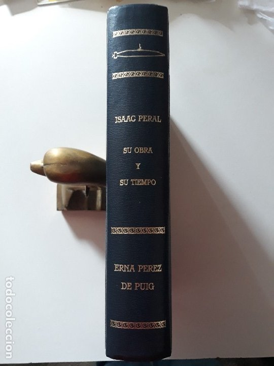 Libros de segunda mano: Isaac Peral su obra y su tiempo. Edicion limitada. Erna Perez de Puig. 1989. Eje 497/2000. Cartagena - Foto 10 - 180420696
